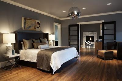 yatak odalarında dramatik dekorasyon1