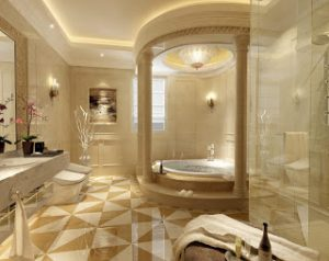 osmanlı motifleriyle dizayn edilmiş banyo örnekleri10
