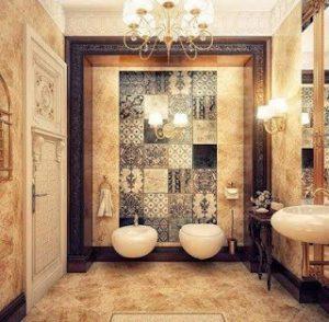 osmanlı motifleriyle dizayn edilmiş banyo örnekleri11