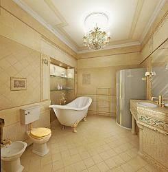 osmanlı motifleriyle dizayn edilmiş banyo örnekleri5