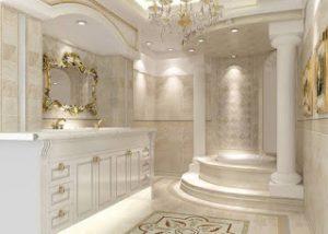 osmanlı motifleriyle dizayn edilmiş banyo örnekleri6