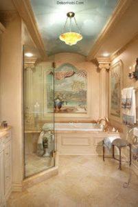 osmanlı motifleriyle dizayn edilmiş banyo örnekleri8