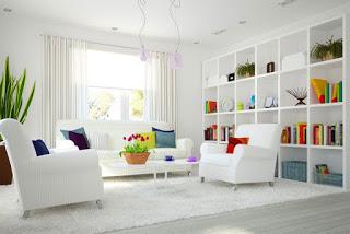beyaz ev dekorasyon fikirleri 1