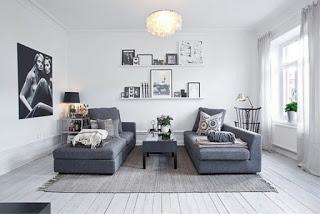 gri renk ile ev iç dekorasyon fikirleri önerileri