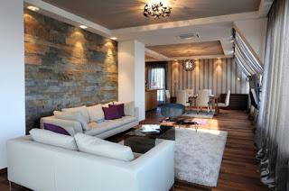 sik ve modern salon duvar dekorasyon ornekleri 16