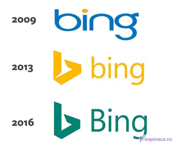 microsoft: bing için yeni logo yaptı